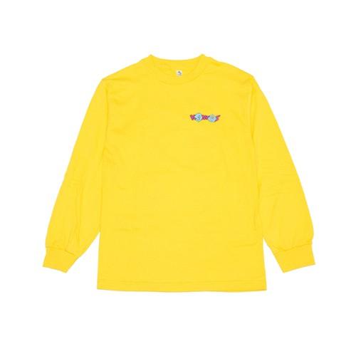 @LEEGET × KONCOS L/S T-SHIRT [Yellow]