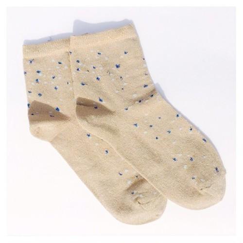 BADELAINE バドレーン  constellation ソックス 靴下 OCRE オークル