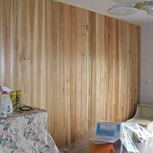 【尾鷲香杉】壁材/赤身・色ぞろえ/肌目(はだめ)幅広/長1900㎜×幅130㎜〈送料込み〉