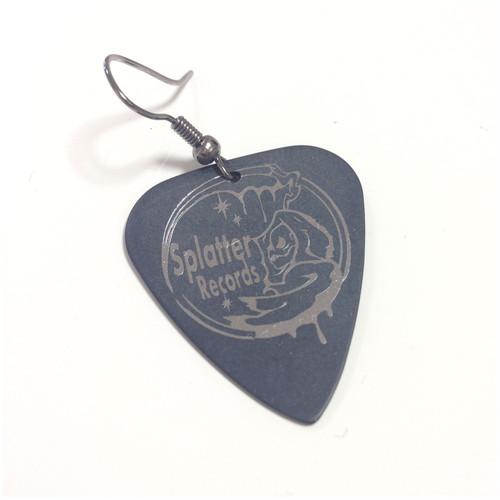 ギターピックピアス/Splatter Records