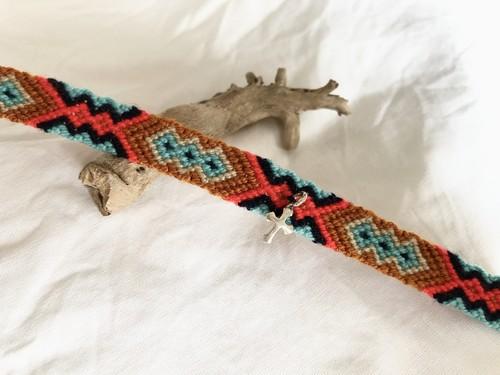チャリティ ミサンガ (Charity Misanga Bracelet) no.14