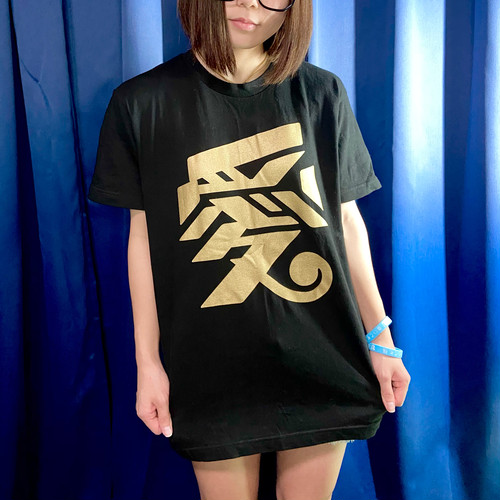 【Lサイズ】ゴールド愛Tシャツ