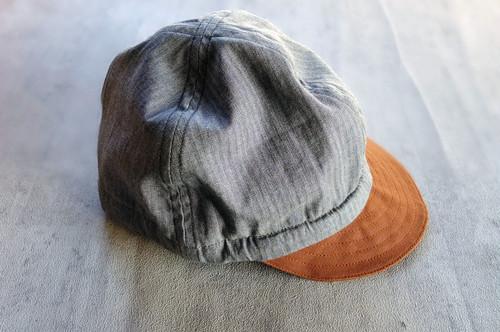 Repairman Work Cap[Herringbone]