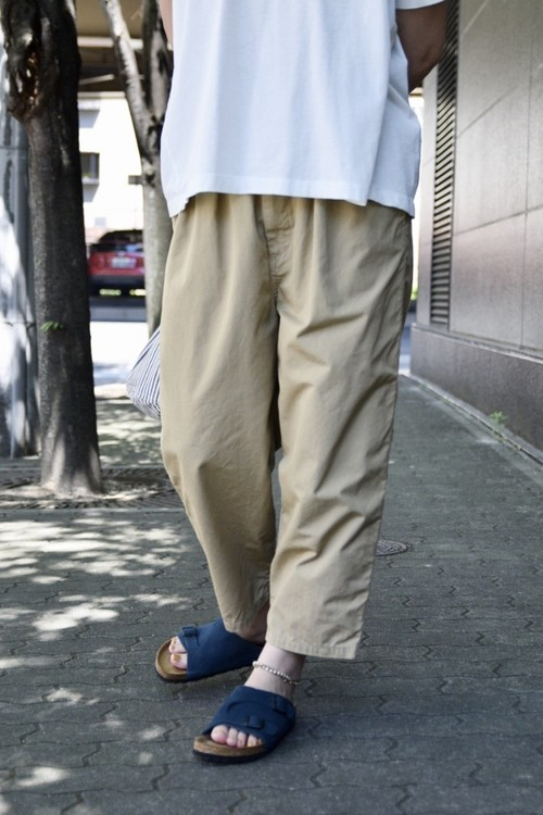 """RESTOCK""【ORDINARY FITS】NARROW BALL PANTS/OF-P052"