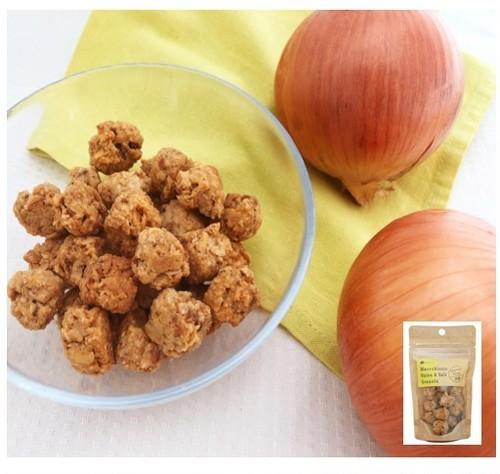 <期間限定>米粉のオニオン&ソルトグラノーラ30g<マクロビ・ビーガン対応/添加物・香料・保存料・着色料・化学調味料・白砂糖・乳製品・卵不使用>
