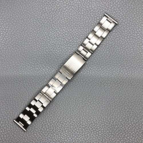 VAGUE WATCH Co. 時計ベルト ヴァーグ ウォッチ ステンレスブレス リベット 3LINK エクステンション ストレート管19mm  腕時計ベルト