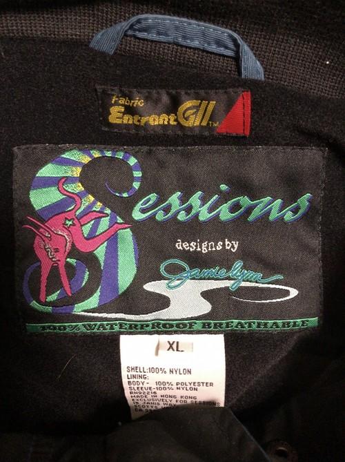 90's waterproof nylon jacket(DEADSTOCK)