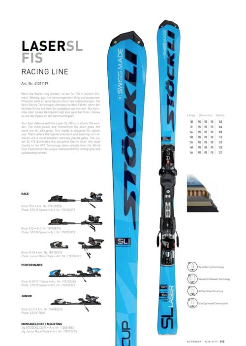 17'-19'|LASER SL FIS / R16 black X70