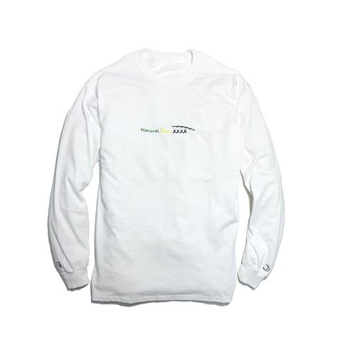 "Kvi Baba ""Natural Born XXXX"" L/S T-Shirts (White) ¥8,000 (tax incl.)"