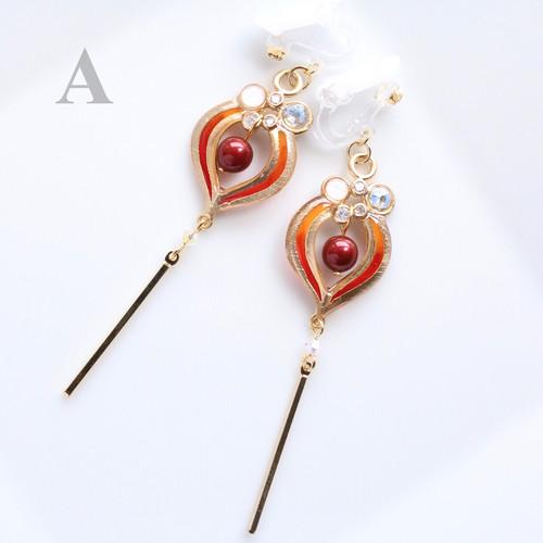 ⌘ 錦灯籠 ⌘ 鬼灯の耳飾り