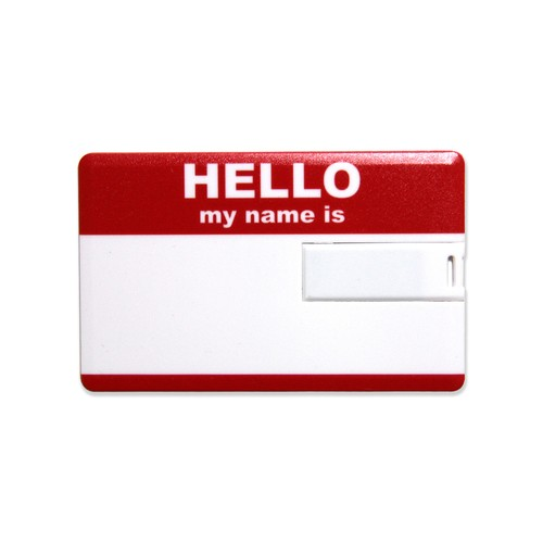 Lixtick USB CARD MEMORY ~HELLO~ RED