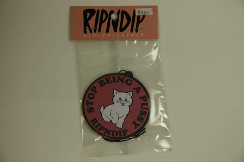 RIPNDIP エアーフレッシュナー -Stop being a pussy-