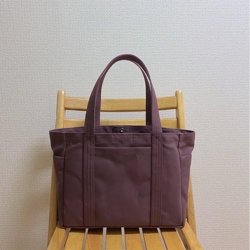 「混合トート」通勤トート「アズキ」帆布トートバッグ 倉敷帆布8号【受注制作】