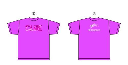 CLUEカモロゴTシャツ ピンク/ピンクカモ