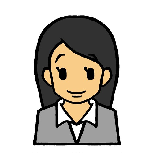 【単品】女性社員Bのみ(20代女性) ~上半身表情62カット~