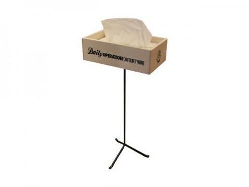 Tissue Box w/Stand