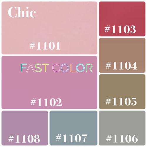 【Chic】FAST COLOR 各5g×8 color【bag】シック8色