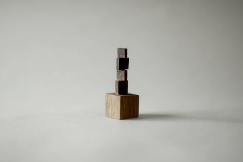 (085)wood figure-mini抽象台付_022