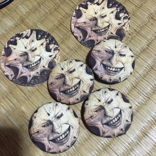 くるみボタン(1個)