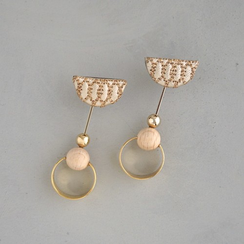 pierced earrings C-P38/earrings C-E38<gold>