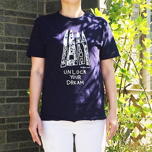 オーガニックTシャツ Sサイズ(紺)