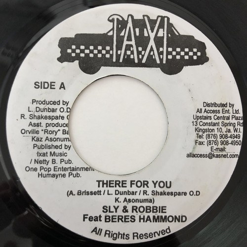 Beres Hammond, Sly & Robbie - There For You【7-20626】