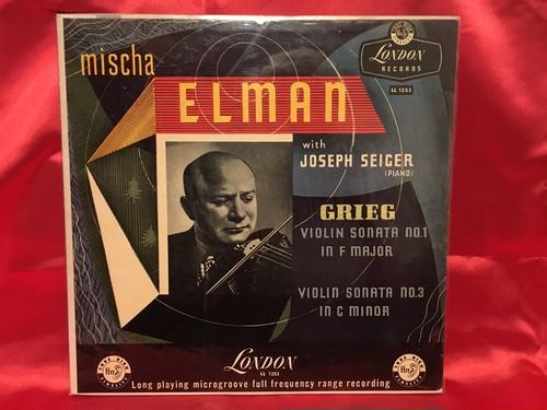 エルマン グリークのヴァイオリンソナタ1&3番