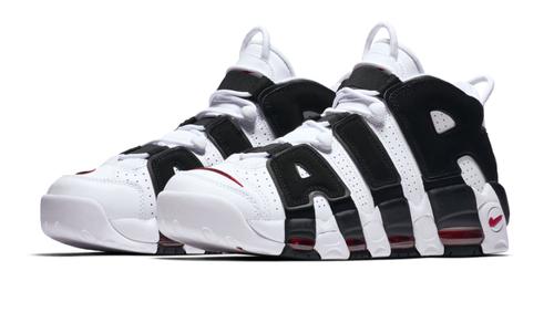 "Nike Air More Uptempo ""White/Black"" Mens"