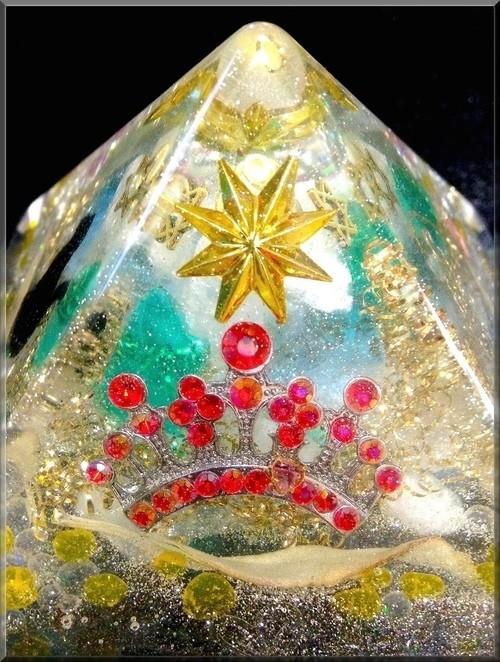 クフ王のピラミッド型オルゴナイト【Ancient Egypt】
