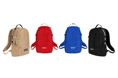 Supreme SS18 Back Pack