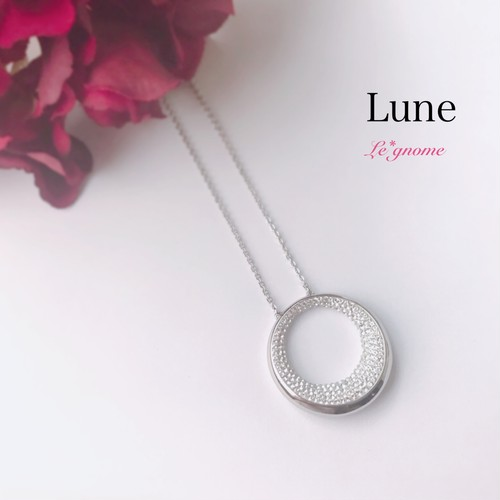 Lune リュヌ ロングネックレス