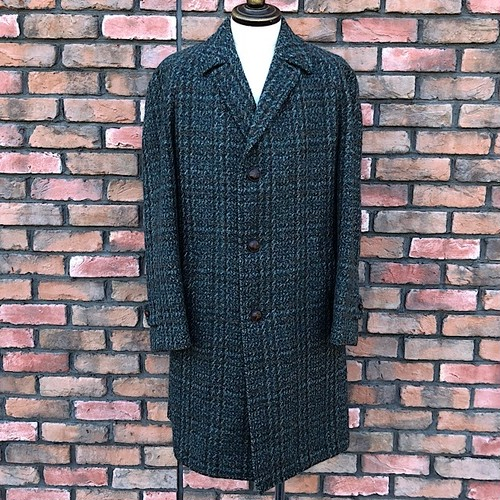 1960s-70s KYNOCH KEITH Scotland Dunn & Co  Tweed Coat