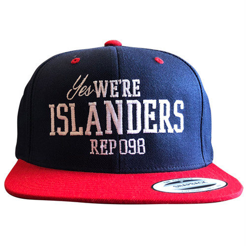 《限定カラー》We Are ISLANDERS SNAPBACK CAP(NAVY×RED) / LIFEdsgn