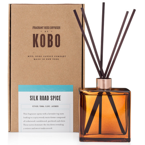 SILK ROAD SPICE - WOODBLOCK REED DIFFUSERS