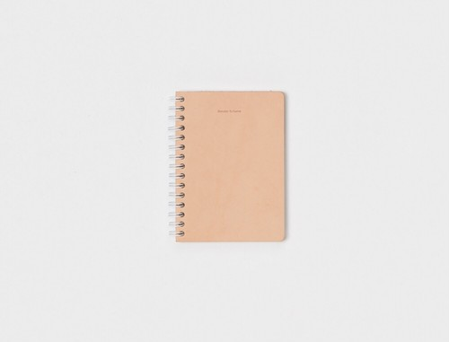 "Hender Scheme "" removable ring note A6 "" natural rule"