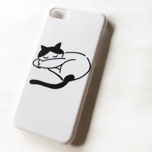 ねこさん iPhone7 6(6s)ケース
