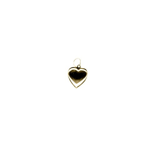 【GF3-6】gold filled heart charm