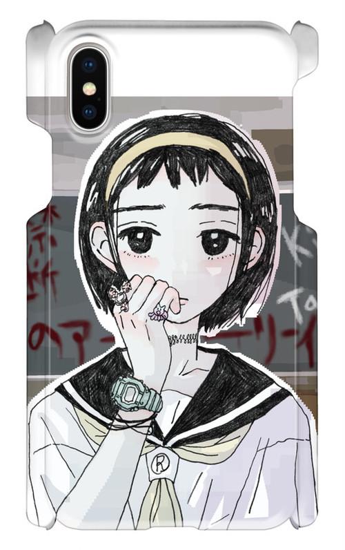 【NEW】禁断の多数決オフィシャルスマホケース iPhoneX (禁断のアーリーイヤーズ)KDNS002