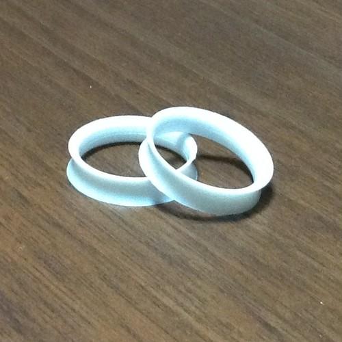 指穴リング (ホワイト) 【2個セット】