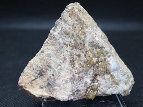 イエロー系! グロッシュラーガーネット 118g GN041 原石 鉱物 天然石 パワーストーン