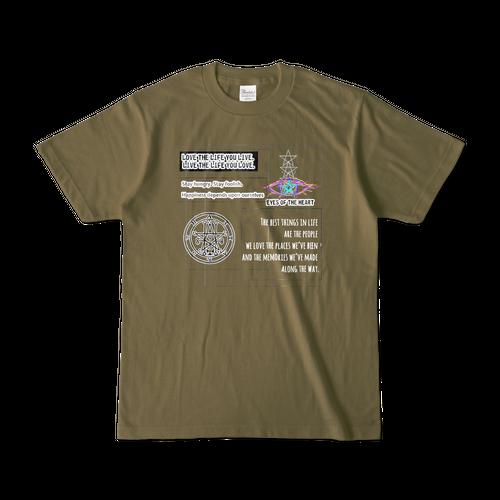 Tシャツ【eye】オリーブ