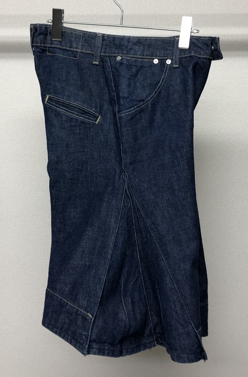 2000s EURO LEVIS PLEATED DENIM PANTS