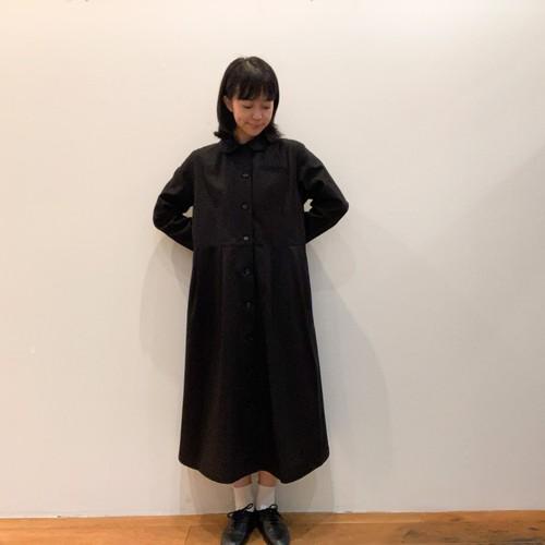 <再入荷> C-71128 High Twisted Gabardine Round Collar Dress