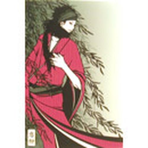 ワカマツカオリポストカード/W-35