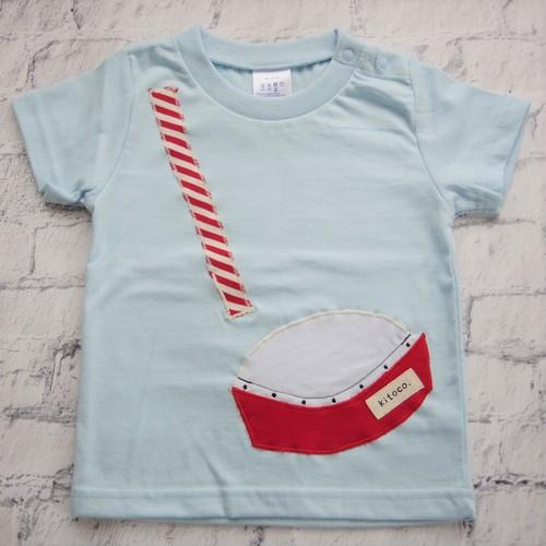 【kitoco.】アップリケのキッズTシャツ(エイサー・90サイズ)