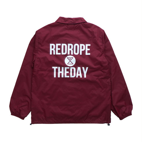 【THEDAY COACH JKT】burgundy/white