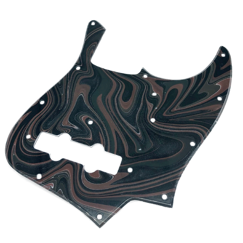 VARIOUS MARBLEIZED PICK GUARD SERIES - 60s J-type  Only One Design - ベース用マーブルピックガード ja1-2