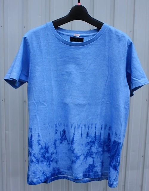 あまべ藍 半袖Tシャツ レディースLサイズ