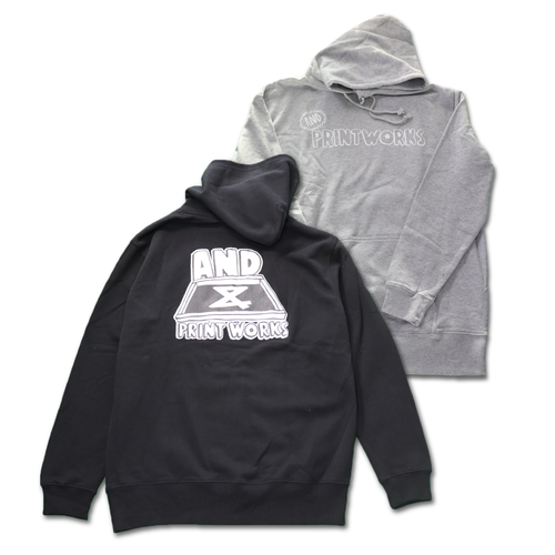 AND PRINT WORKS Pullover Hoodie