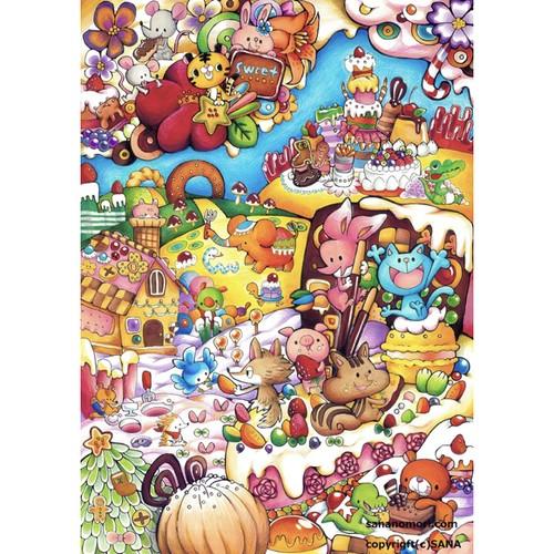ペーパースタンド お菓子の森